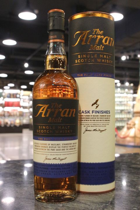 (現貨) Arran Port Cask Finish Single Malt Whisky 愛倫 波特桶 (700ml 50%)