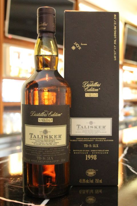 TALISKER 1998 10 Years Single Malt Whisky 大力斯可 1998 10年 (750ml 45.8%)