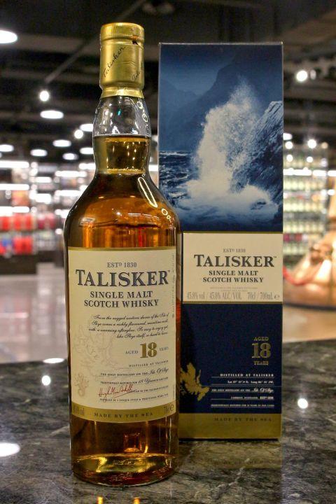 (現貨) TALISKER 18 Years Single Malt Whisky 大力斯可 18年 單一麥芽威士忌 (700ml 45.8%)