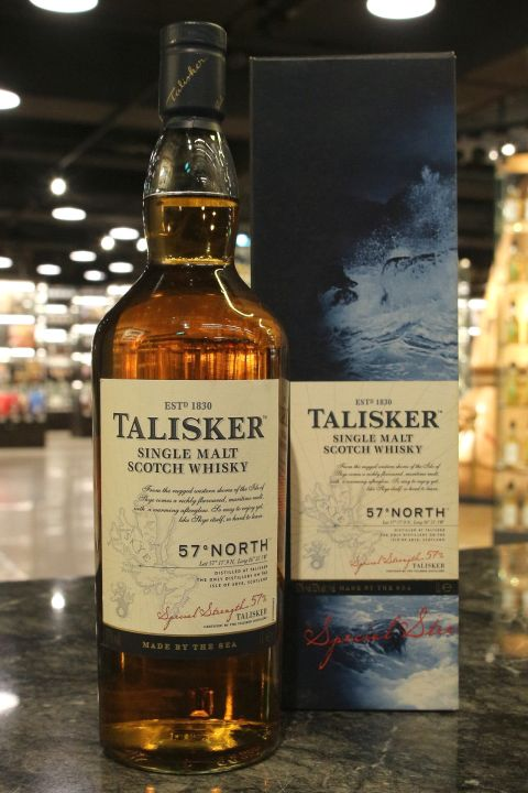 (現貨) TALISKER 57゚North Single Malt Whisky 大力斯可 北緯57度 原酒 (1000ml 57%)