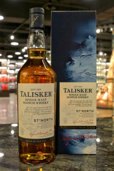(現貨) TALISKER 57゚North Single Malt Whisky大力斯可 北緯57度 原酒 (700ml 57%)