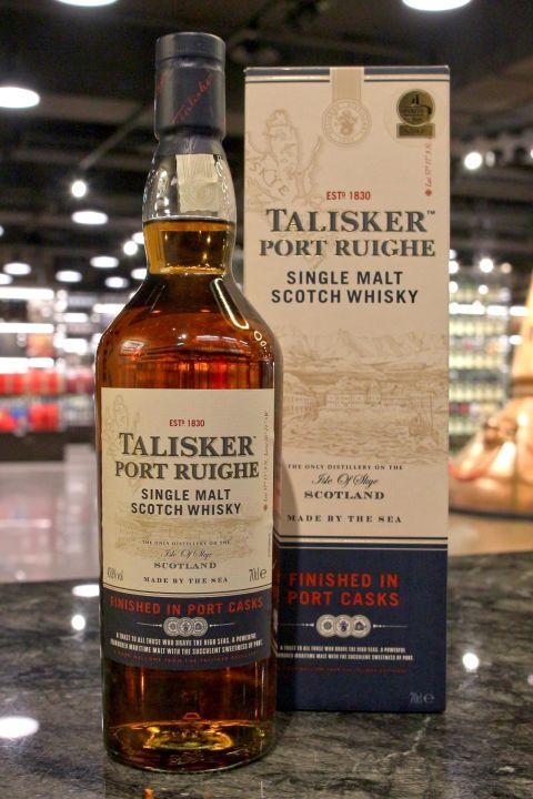 (現貨) TALISKER Port Ruighe Single Malt Whisky 大力斯可 波特桶 單一麥芽威士忌 (700ml 45.8%)