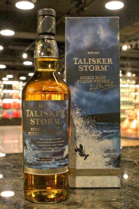 (現貨) TALISKER Strom Single Malt Whisky 大力斯可 風暴 單一麥芽威士忌 (700ml 45.8%)
