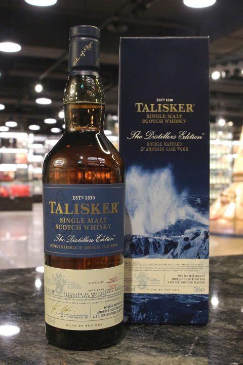 TALISKER 2007 Distillers Edition 大力斯可 2007 10年 2017酒廠限定版 (700ml 45.8%)
