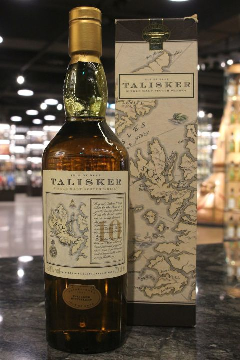(現貨) TALISKER 10 Years Map Label 大力斯可10年 地圖標 (700ml 45.8%)