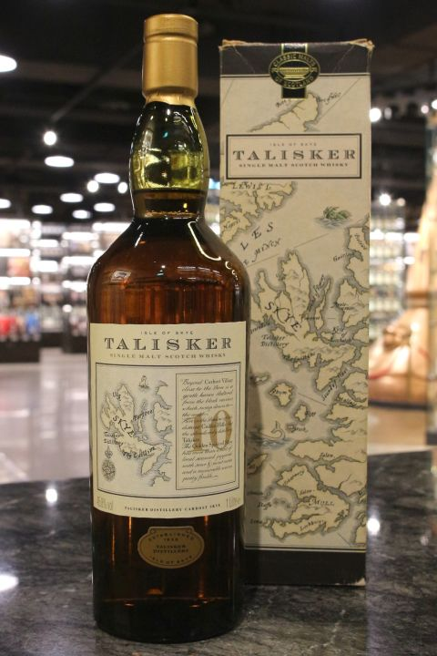 (現貨) TALISKER 10 Years Map Label 大力斯可10年 地圖標 (1000ml 45.8%)