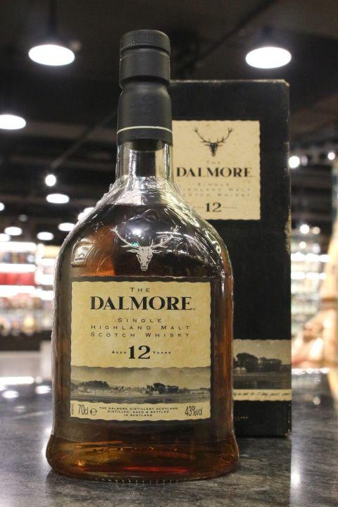 (現貨) Dalmore 12 Years Bottled 1990s 大摩12年 舊版 1990年代裝瓶 (700ml 43%)