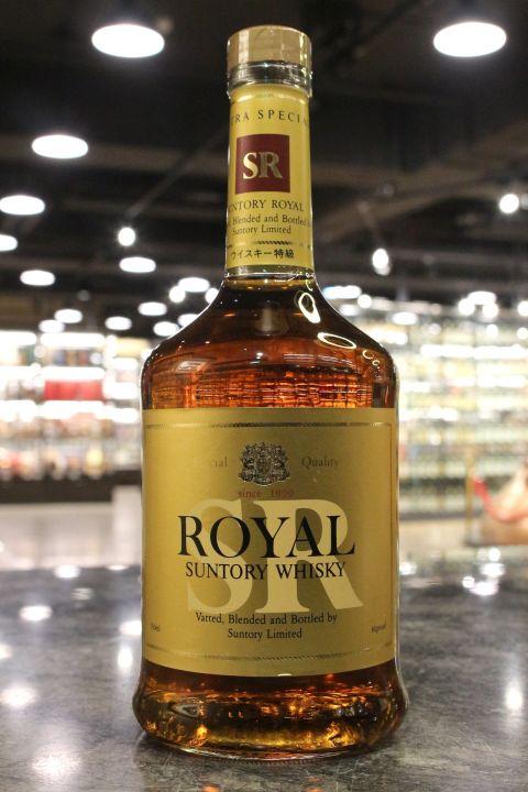 (現貨) Suntory Royal SR Blended Whisky 三得利 SR 雙獅版 調和威士忌 (760ml 43%)