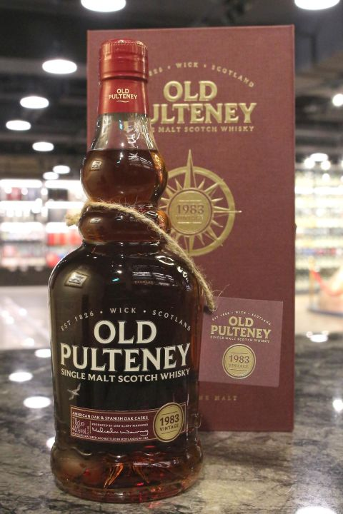 Old Pulteney 1983 American Oak & Spanish Oak Casks 富特尼 1983 雙桶 (700ml 46%)