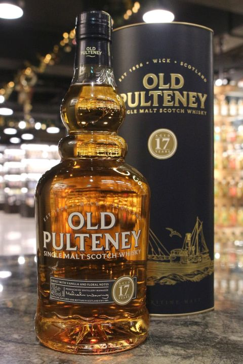Old Pulteney 17 Years Single Malt Whisky 富特尼 17年 單一麥芽威士忌 (700ml 46%)