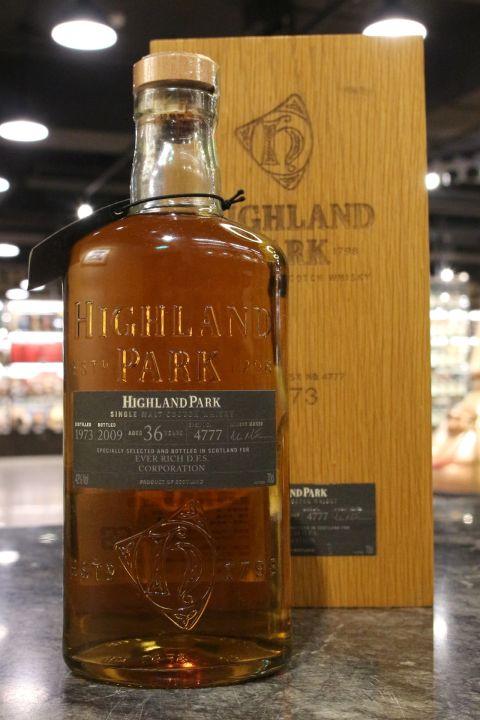 (現貨) Highland Park 1973 36 Years Single Cask #4777 高原騎士 1973 36年 單桶 (700ml 42%)