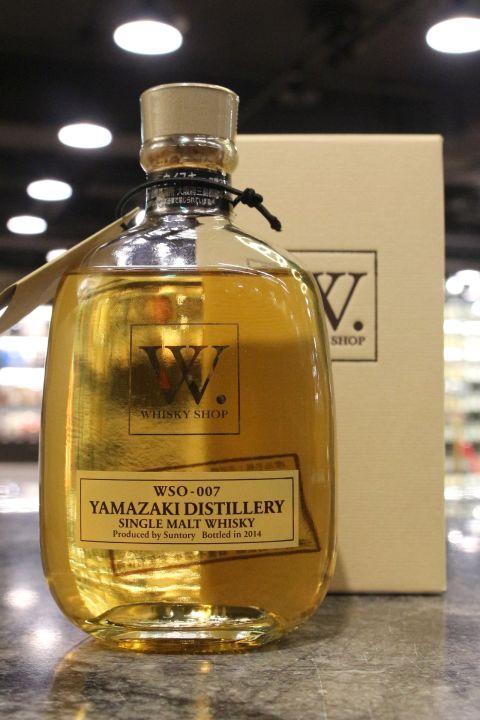 (現貨) Yamazaki W. whisky shop 2014 Edition 山崎 W限定 2014裝瓶 (300ml 48%)