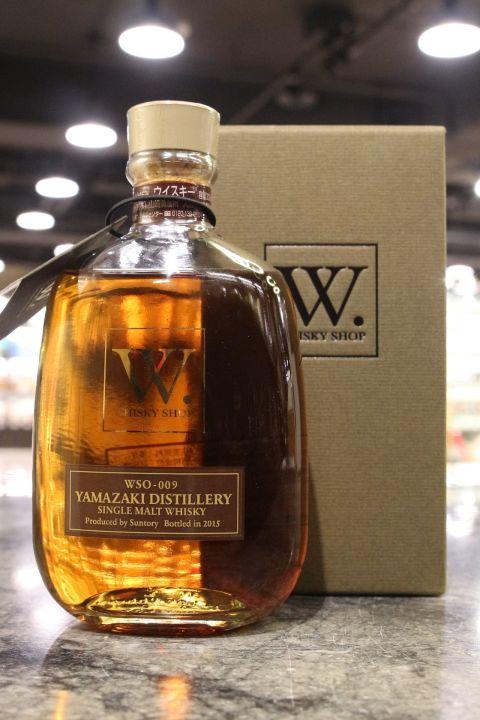 (現貨) Yamazaki W. whisky shop 2015 Edition 山崎 W限定 2015裝瓶 (300ml 45%)