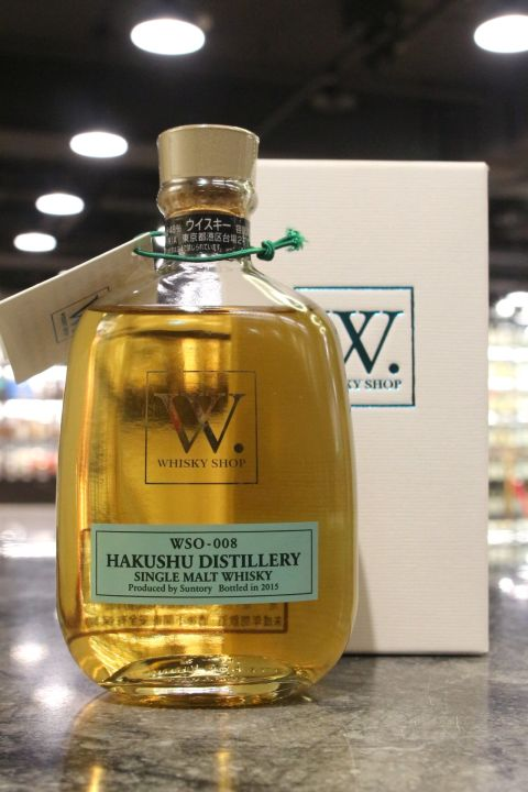 (現貨) Hakushu W. whisky shop 2015 Edition 白州 W限定 2015裝瓶 (300ml 48%)