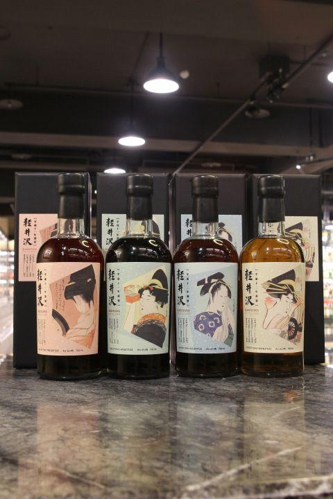 "(現貨) Karuizawa Whisky "" Miyako Odor"" 輕井澤 藝妓標 繁花之都 (700ml*4)"