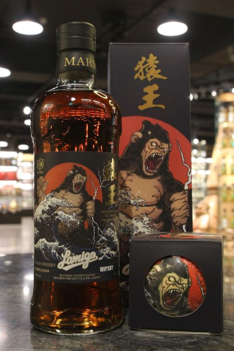 (現貨) Mars Whisky - Lamigo Monkey King  猿王 限量紀念威士忌 (700ml 48%)