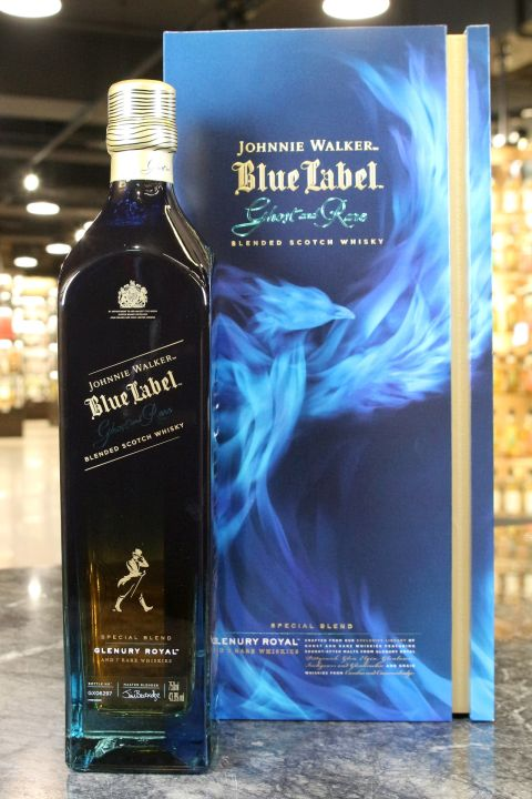 (現貨) Johnnie Walker Blue Label Ghost & Rare Glenury Royal 約翰走路 藍牌 珍稀系列第三版 (700ml 43.8%)