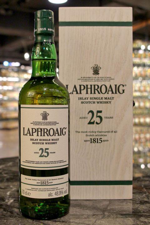 (現貨) LAPHROAIG 25 Years Cask Strength 2017 Edition 拉佛格 25年原酒 2017版 (700ml 48.9%)