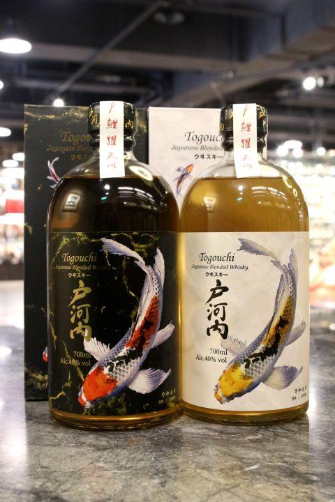Togouchi Japanese Blended Whisky 戶河內 雙色鯉魚 調和威士忌 (700ml 40%)