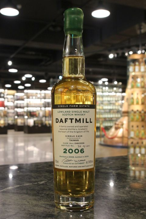 Daftmill 2006 ~2019 Single Cask for Taiwan Exclusive 德夫磨坊 2006 台灣限定單桶 (700ml 54.9%)
