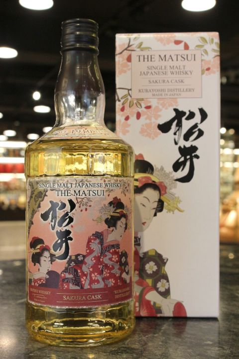 (現貨) The Matsui Sukura Cask Single Malt Whisky 松井 櫻花桶 單一麥芽威士忌 (700ml 48%)