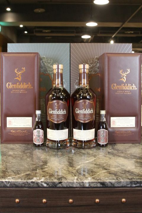 (現貨) Glenfiddich 26 Years Vino Formosa Rosso Cask Finish 格蘭菲迪 紅埔桃酒風味桶 黑后&破冰