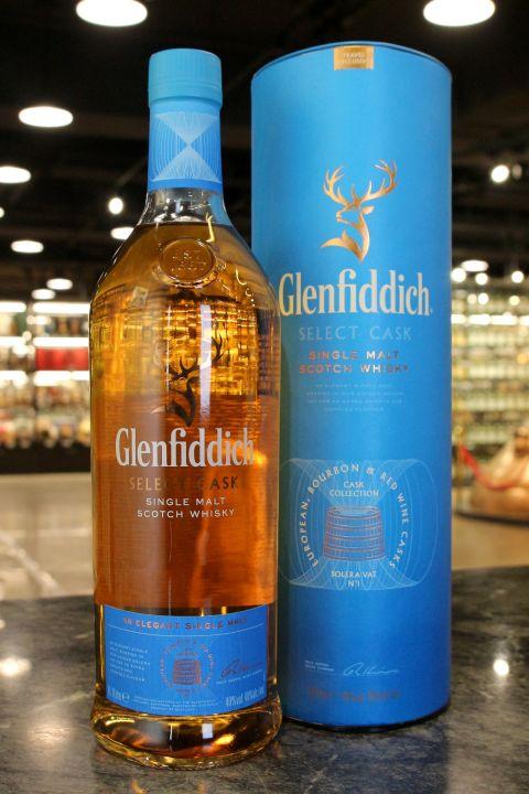 (現貨) Glenfiddich Select Cask Solera Vat No.1 格蘭菲迪 限定木桶珍藏系列 (1000ml 40%)