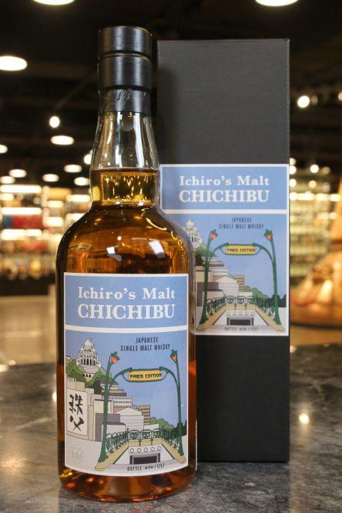 (現貨) Ichiro's Malt CHICHIBU Paris Edition 2019 秩父 巴黎限定版 (700ml 50.5%)