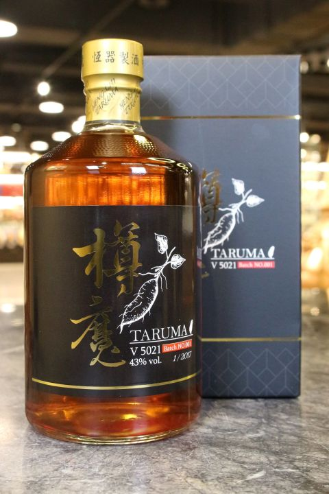 (現貨) Taruma V5021Sweet Potato Spirit Batch 01 金樽魔 地瓜蒸餾原酒 (700ml 43%)