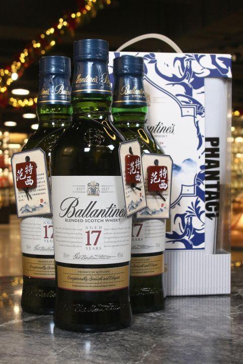 (現貨) Ballantine's 17 Years Taiwan Limited Edition 百齡罈 17年 台灣限定版 范特西聯名款禮盒 (700ml 40%)