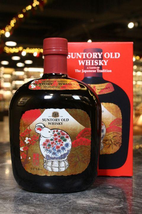 (現貨) Suntory Old Zodiac Bottle Year of the Rat 2020 三得利 2020 鼠年紀念酒 (700ml 43%)