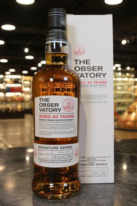 The Obser Vatory 20 Years Single Grain Whisky 瞭望台 20年 單一穀物威士忌 (700ml 40%)