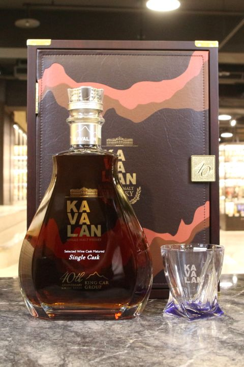 Kavalan Selected Wine Cask Matured Limited Edition 噶瑪蘭 尊典 金車40週年限量 (1500ml 56.3%)