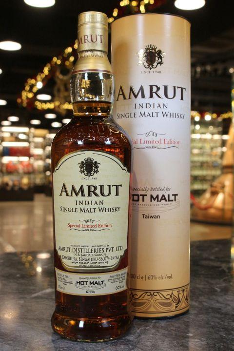 (現貨) Amrut Ex-Rum Single Cask Limited Edition for Taiwan 雅沐特 珍稀蘭姆桶 單桶原酒 (700ml 60%)