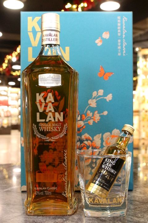 (現貨) Kavalan Classic Single Malt New Year Gift Set 2020 噶瑪蘭 經典雷雕 2020新年禮盒 (700ml 40%)