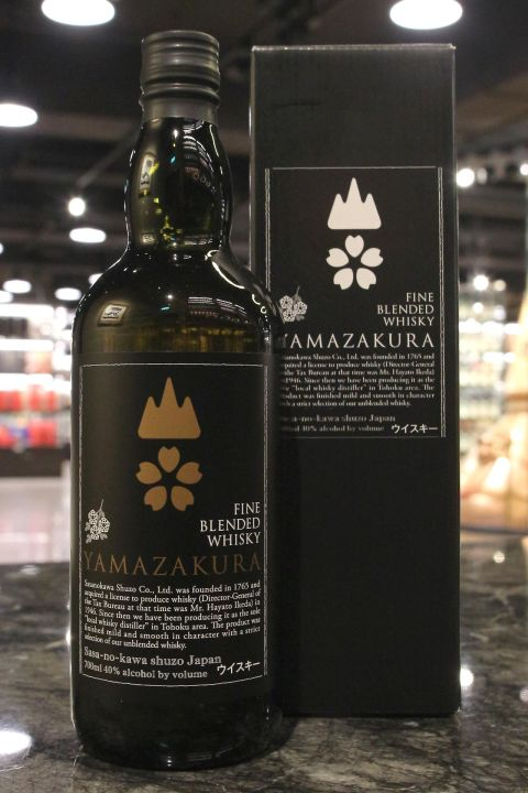 (現貨) Yamazakura Fine Blended Whisky 山櫻 純麥威士忌 (700ml 40%)