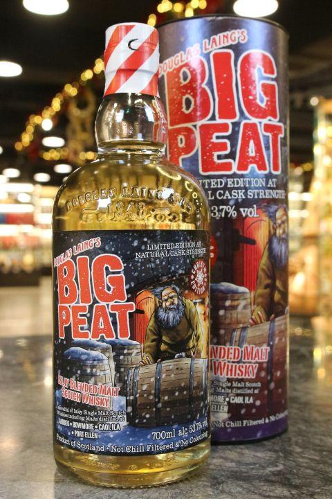 Big Peat X'mas Edition 2019 泥煤哥 2019 聖誕節特別版 原酒強度 (700ml 53.7%)