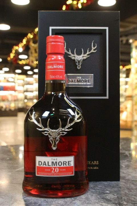 (現貨) Dalmore 20 Years Single Malt Whisky Wooden Box大摩 20年 精裝木盒版 (700ml 40%)