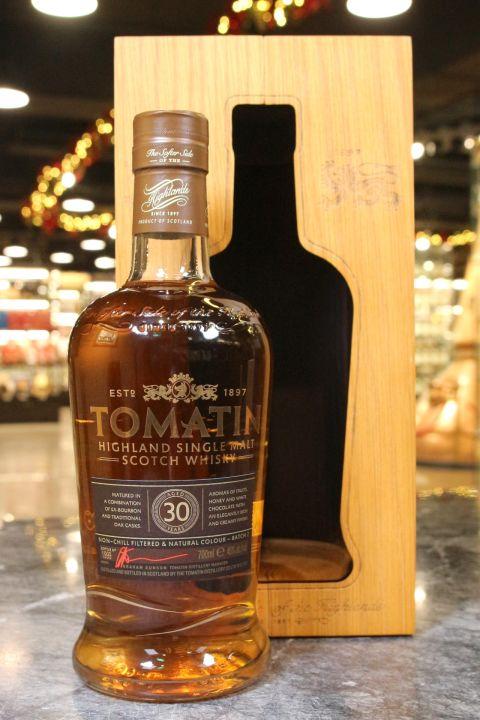 (現貨) Tomatin 30 Years Batch 2 湯瑪丁 30年 限量版 第二批次 (700ml 46%)