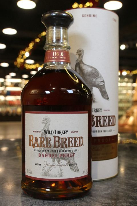 (現貨) Wild Turkey Rare Breed Kentucky Straight Bourbon 野火雞 尊釀 美國波本威士忌 (700ml 58.4%)
