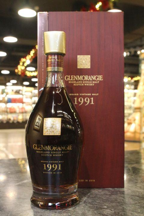 (現貨) Glenmorangie Vintage Malt 1991 Bot. 2018 格蘭傑 1991 單一麥芽威士忌 (700ml 43%)