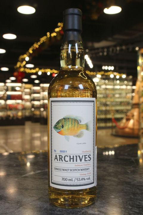 (現貨) Archives - Ardmore 2009 9 Years Ex-Laphroaig Barrel 亞德摩爾 9年 拉佛格桶 (700ml 53.4%)