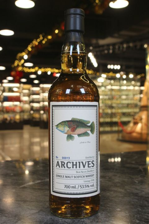 Archives - Ben Nevis 1996 22 Years Hogshead 班尼富 1996 22年 (700ml 53.5%)