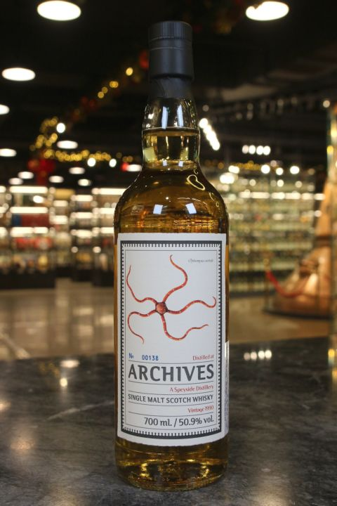 (現貨) Archives - Speyside 1990 28 Years Hogshead 斯佩賽 1990 28年 (700ml 50.9%)