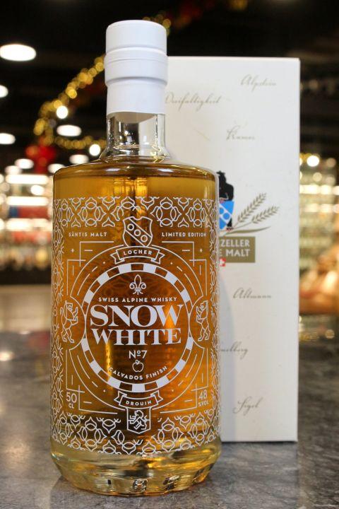 SÄNTIS MALT Snow White 7 Calvados Finish 山蹄士 白雪公主七版 蘋果白蘭地酒桶 (500ml 48%)