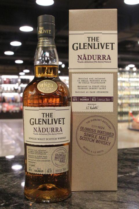 (現貨) GLENLIVET NADURRA Batch OL0615 Oloroso Sherry Casks 格蘭利威 雪莉桶原酒 (700ml 60.3%)