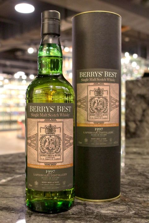 (現貨) BBR – Laphroaig 1997 18 Years LMDW 60th Anniversary 拉佛格 18年 LMDW 60週年 (700ml 52.2%)