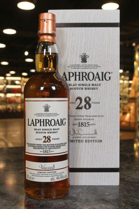 (現貨) Laphroaig 28 Years Limited Edition 拉佛格 28年 單一麥芽威士忌 (750ml 44.4%)