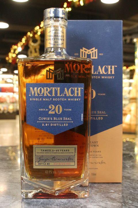 (現貨) Mortlach 20 Years Single Malt Whisky 慕赫 20年 單一麥芽威士忌 (750ml 43.3%)