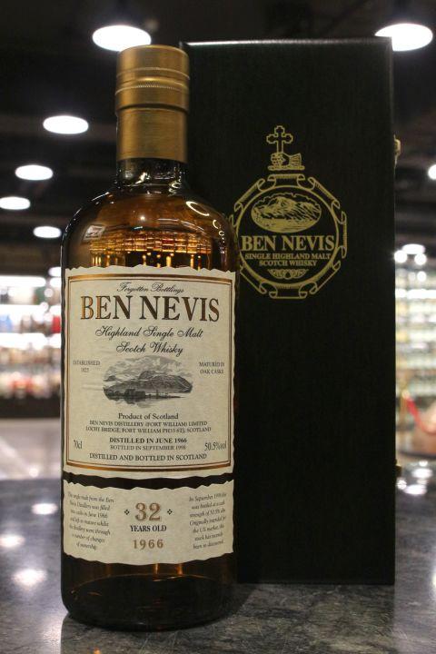 (現貨) Ben Nevis 1966 32 Years Forgotten Bottlings 班尼富 1966 32年 (700ml 50.5%)